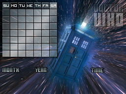 11th Dr Who - Tardis